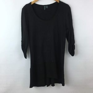 Left of Center Button Pack Parkway Tunic Top